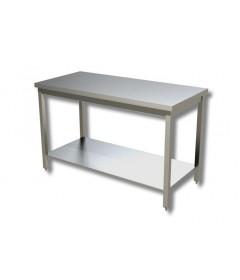 TABLE CENTRALE + ETAGERE BASSE