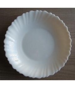 ASSIETTES CREUSES BLANCHES