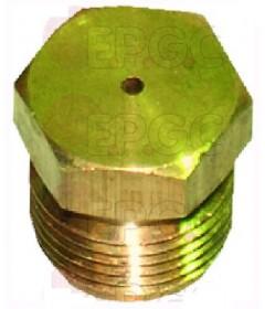 INJECTEUR GAZ M10X1 PLAT HEXAGONAL