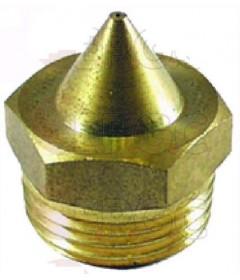 INJECTEUR GAZ D180 M17X1 CONIQUE HEXAGONAL (PROPANE)