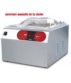 MACHINE SOUS VIDE A CLOCHE BARRE SOUDURE 400MM POMPE 12M3/H