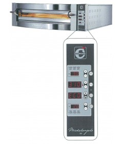 FOUR A PIZZA MICHELANGELO ELECTRIQUE 1 ETAGE CONTROLE DIGITAL