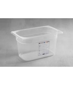 BAC GASTRO HACCP POLYPROPYLENE GN1/4 265X162