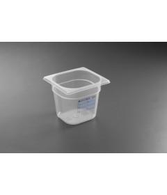 BAC GASTRO HACCP POLYPROPYLENE GN1/6 176X162