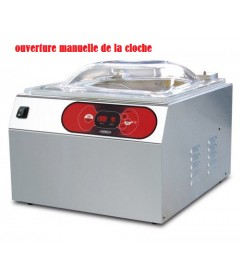 MACHINE SOUS VIDE A CLOCHE BARRE SOUDURE 350MM POMPE 8M3/H