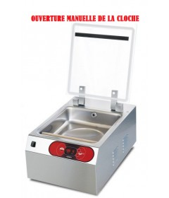 MACHINE SOUS VIDE A CLOCHE BARRE SOUDURE 300MM POMPE 6M3/H