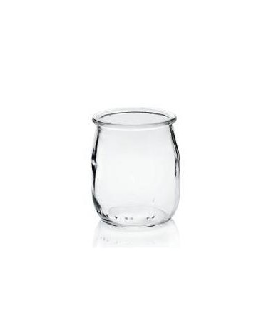 POT  YAOURT EN VERRE 143ML D53 H68 X24