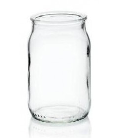 POT  YAOURT EN VERRE 180ML D51 H90 X24