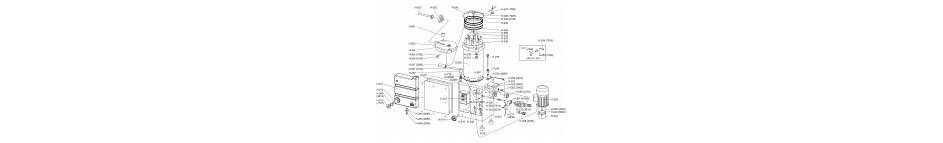 Pièces détachées poussoir hydraulique 31L TALSA